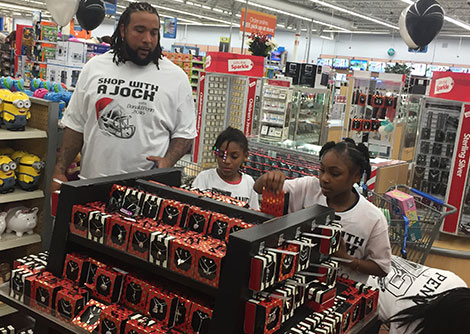 Shop with a Jock - Donald Penn